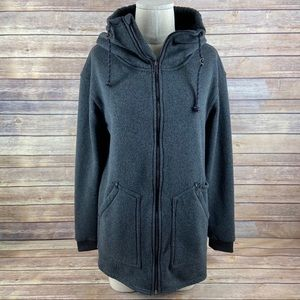 Burton Dryride Minxy Fleece Full Zip Gray Jacket